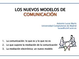 Un nuevo modelo de comunicación