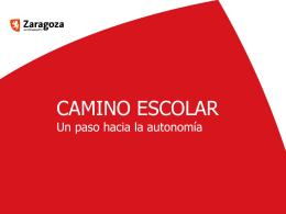 Camino Escolar - Ayuntamiento de Zaragoza