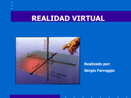 Realidad Virtual.