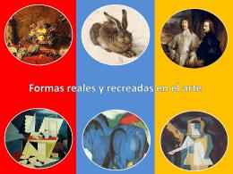 Formas reales y recreadas 3° básico
