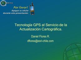 Tecnología GPS para la administración de Infraestructura.