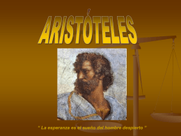 Aristóteles en la Academia de Platón