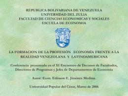 PROCESO GLOBALIZADOR Econ. Edinson Jiménez