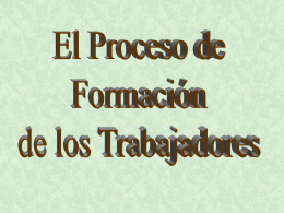 LA FORMACION - training.itcilo.it