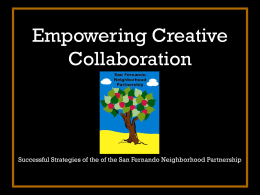 Empowering Creative Collaboration