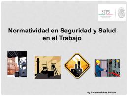 nom-012-stps-2012 condiciones de seguridad y salud en los