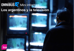 7 de cada 10 argentinos declaran que lo hacen para informarse