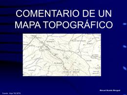 interpretación y análisis del mapa - Historia
