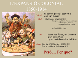 L`Imperialisme colonial