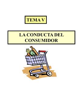 La conducta del consumidor.