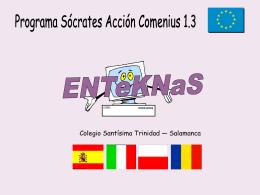 Proyecto ENTeKNaS - Colegio Santísima Trinidad
