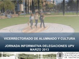 Sin título de diapositiva - Universidad Politécnica de Valencia