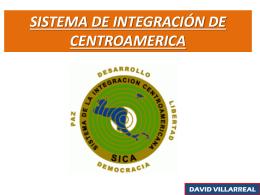 sistema de integración de centroamerica
