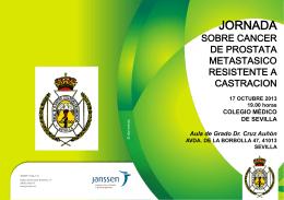 Programa - Colégio Medico de Sevilla