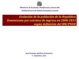 pobreza-y-clase-medi.. - Ministerio de Economía, Planificación y