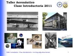 Taller Aeronáutico - Clase I - Departamento de Aeronáutica
