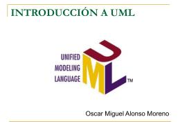 introducción a uml - Departamento de Ingeniería de Sistemas e