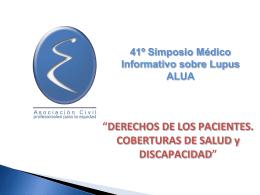 El Derecho de los pacientes - Cobertura por Salud y