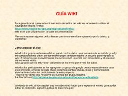guiawiki - despertandoconcienciaplanetaria
