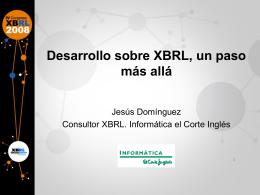 D. Jesús Domínguez - Asociación XBRL España