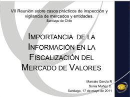 VII Reunión sobre casos prácticos de inspección y vigilancia