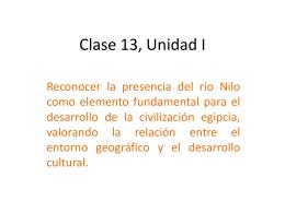 Clase 13: egipto - Colegio SS.CC. Manquehue