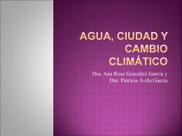 Agua, ciudad y cambio climático