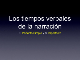 Descargar el PowerPoint sobre los tiempos de la narración