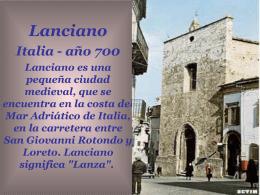 27- Lanciano - Italia - Estrella de la Mañana