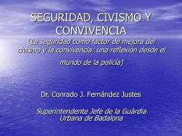 La convivencia - centro de documentación del programa urbal