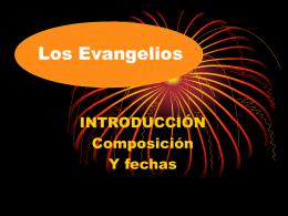 Los Evangelios - Parroquia Covadonga de Madrid