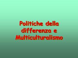 Lezione multiculturalismo