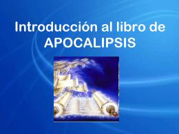 Introducción al libro de APOCALIPSIS
