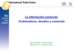 La información comercial