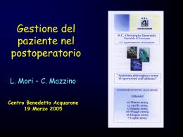 Decorso_postoperatorio