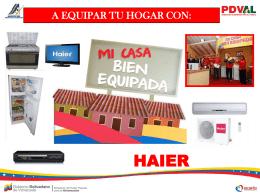 Portal Web para el Programa Mi Casa Bien Equipada PDVAL Trujillo