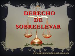 derecho de sobreelevar - Estudio Notarial Machado