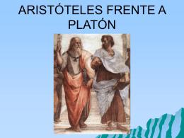 Comparación entre Platón y Aristóteles