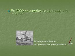 """2005 400º Aniversario de la publicación del """"Quijote"""""""
