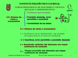 Presentación de PowerPoint - Instituto Politécnico Nacional