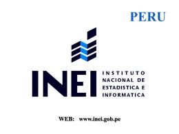 Situacion Y Perspectiva De La Estadistica Peruana