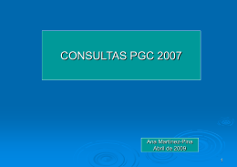 Consulta número 1 del BOICAC número 75/JUNIO 2008