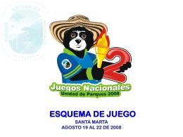 Esquema de Juego - Parques Nacionales de Colombia