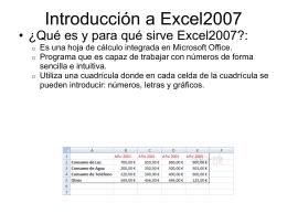 Diapositivas_Hoja de Calculo Excel 2007