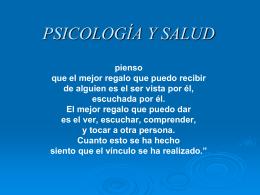 CLASE 3 Psicología y Salud I