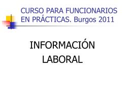 CONCURSO GENERAL DE TRASLADOS 2006. CUERPO