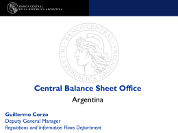 Central Balance Sheet Office