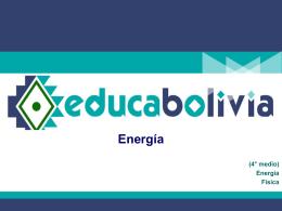 Energía - educabolivia