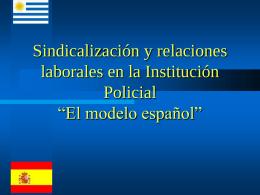 FORTALEC INSTITmodelossindicales presentacion