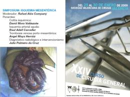 Casos clínicos - Sociedad Valenciana de Cirugía